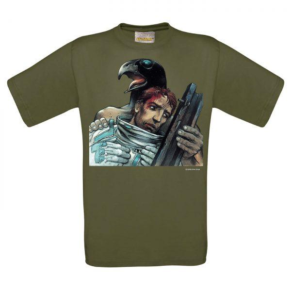 BD-Shirt.Art - Tee-shirt Foire aux Immortels kaki Bilal