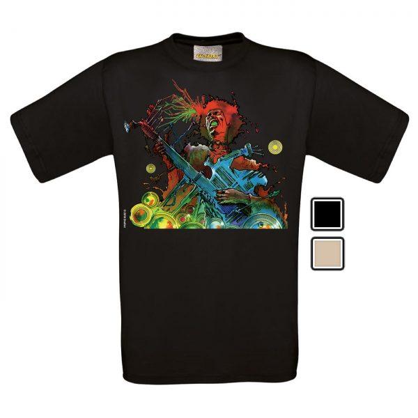 BD-Shirt.Art - Tee-shirt Hendrix Druillet