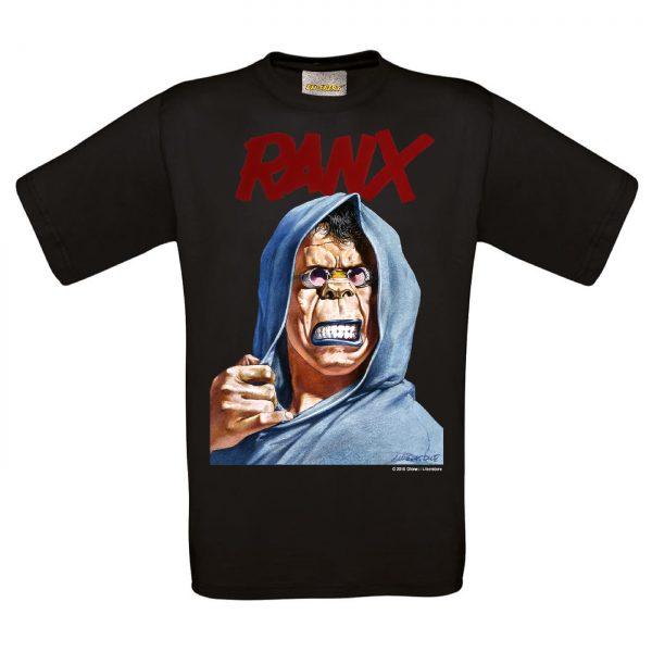 BD-Shirt.Art - Tee-shirt Ranx Amen noir Liberatore