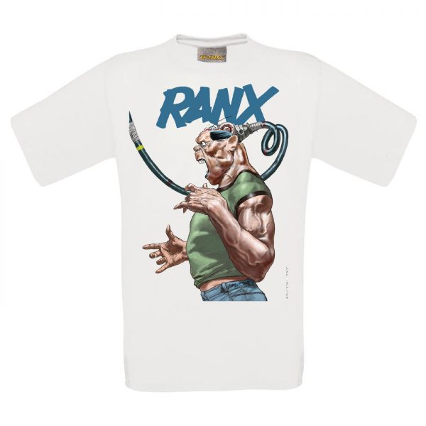 BD-Shirt.Art - Tee-shirt Ranx Plugged blanc Liberatore