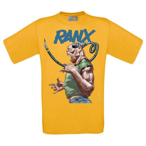BD-Shirt.Art - Tee-shirt Ranx Plugged jaune Liberatore