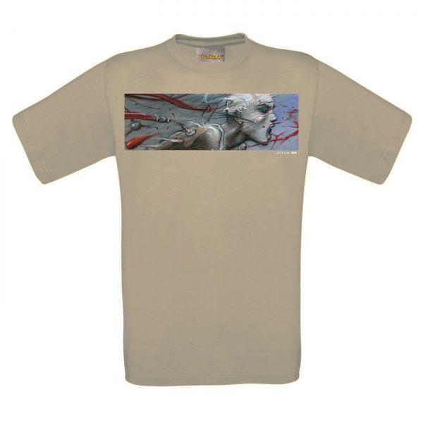 BD-Shirt.Art - Tee-shirt Sacha beige Bilal