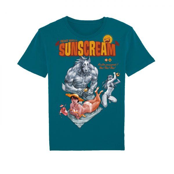 BD-Shirt.Art - Tee-shirt Freaks' Squeele Sunscream océan Maudroux Label 619