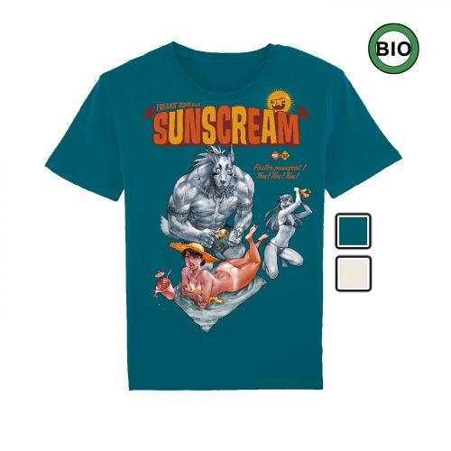 BD-Shirt.Art - Tee-shirt Freaks' Squeele Sunscream Maudoux Label 619